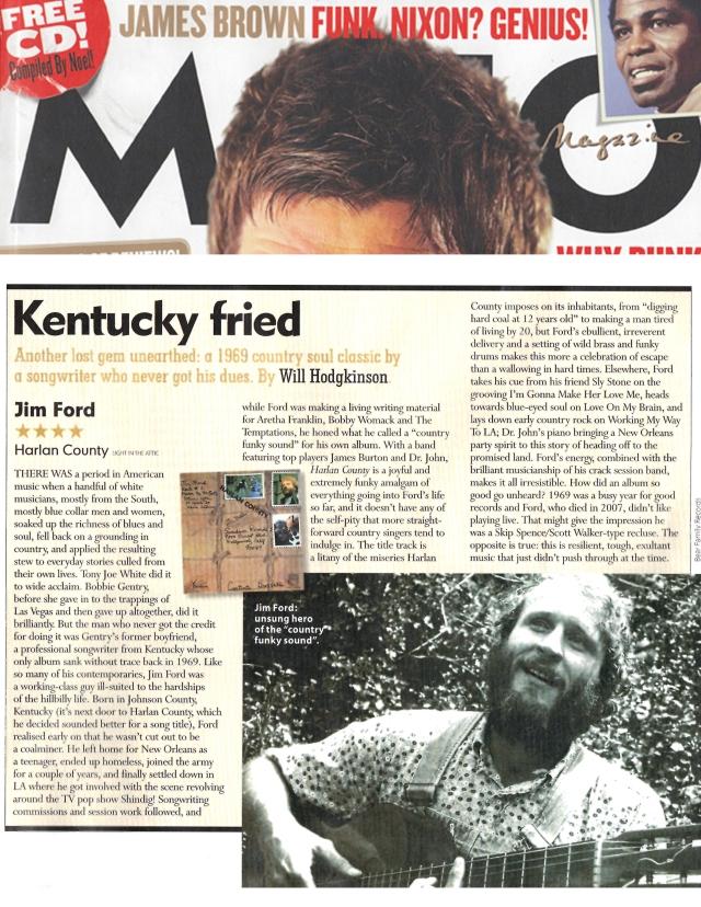 Jim Ford Review in Mojo