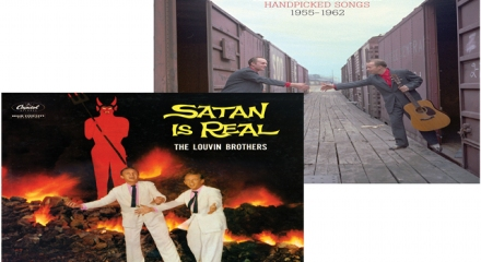The Louvin Brothers 'Satan Is Real/Handpicked Songs 1955-1962' (Light In The Attic)