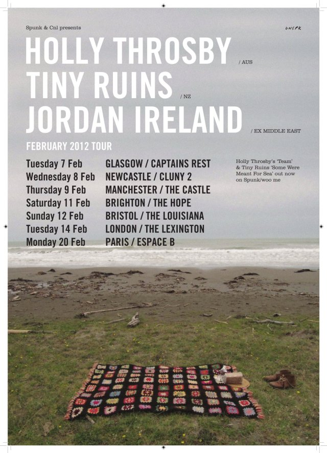 Holly_Throsby Tour Poster