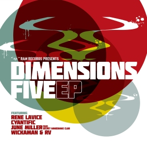 Various 'Dimensions 5 EP' (Ram Records)