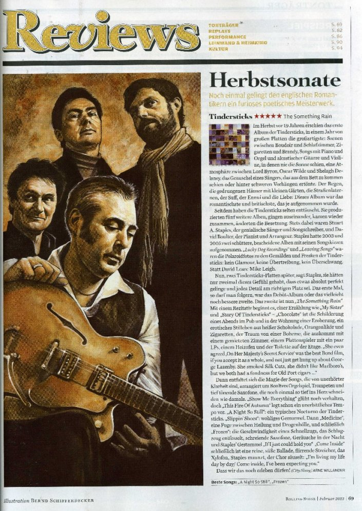 Tindersticks in Rolling Stones Germany