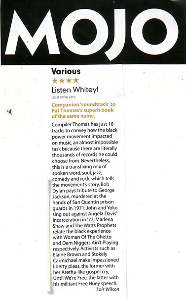MojoAlbumReviewMarch2012 - Listen Whitey!
