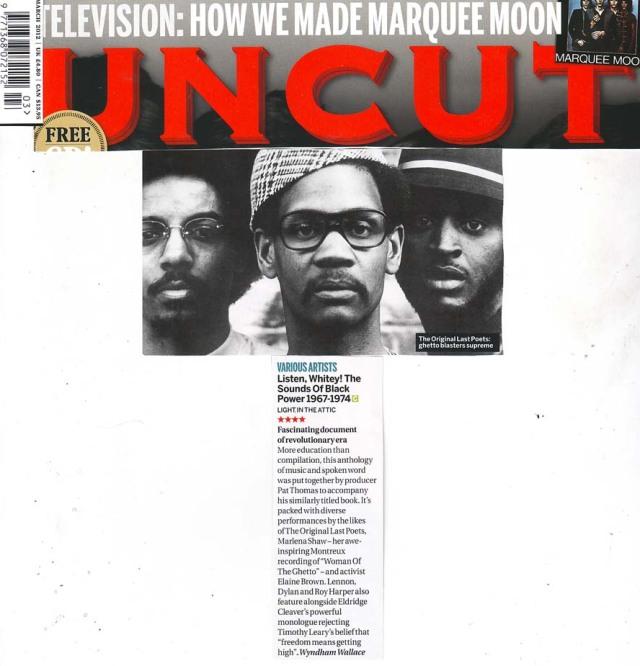 Listen Whitey Uncut Album Review