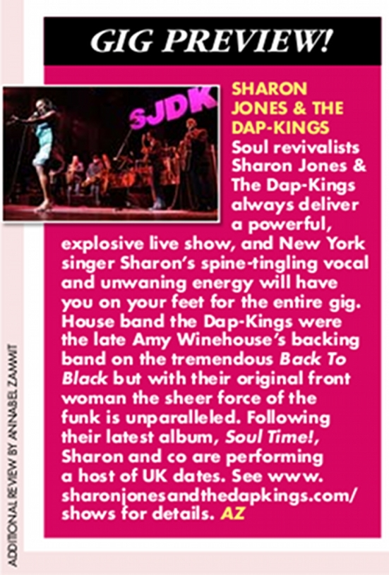 Sharon Jones & The Dap- Kings