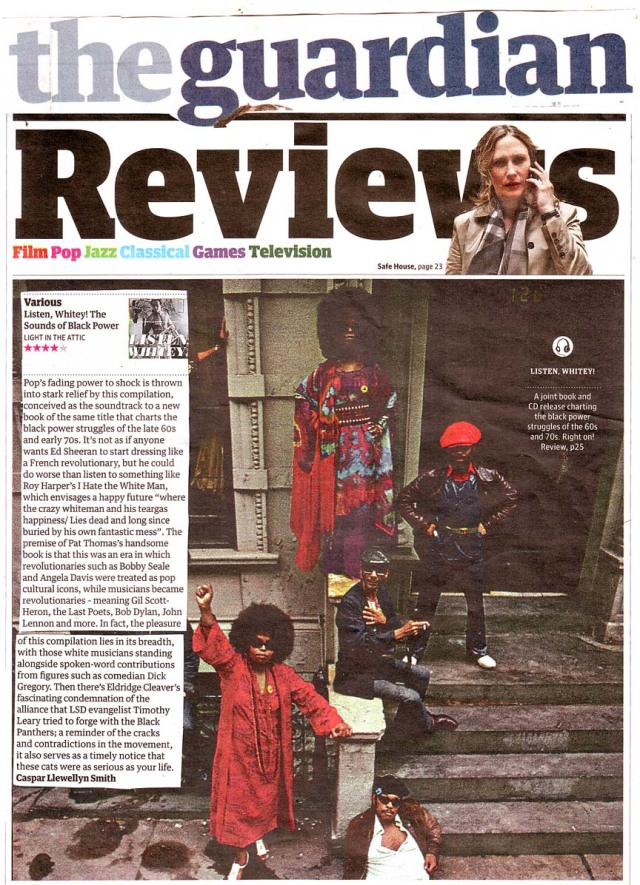 The Guardian Album Review 24 Feb 2012 Listen Whitey