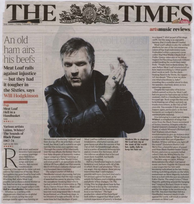 TheTimesAlbumReview24Feb2012