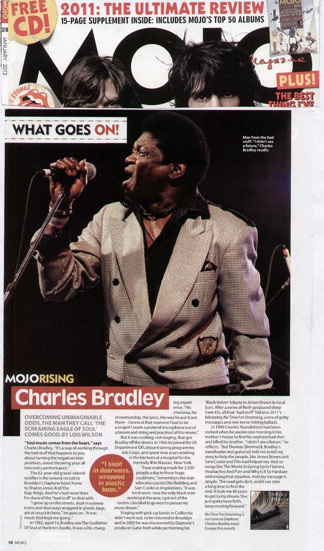 MojoRisingFeatureJan2012 - Charles Bradley