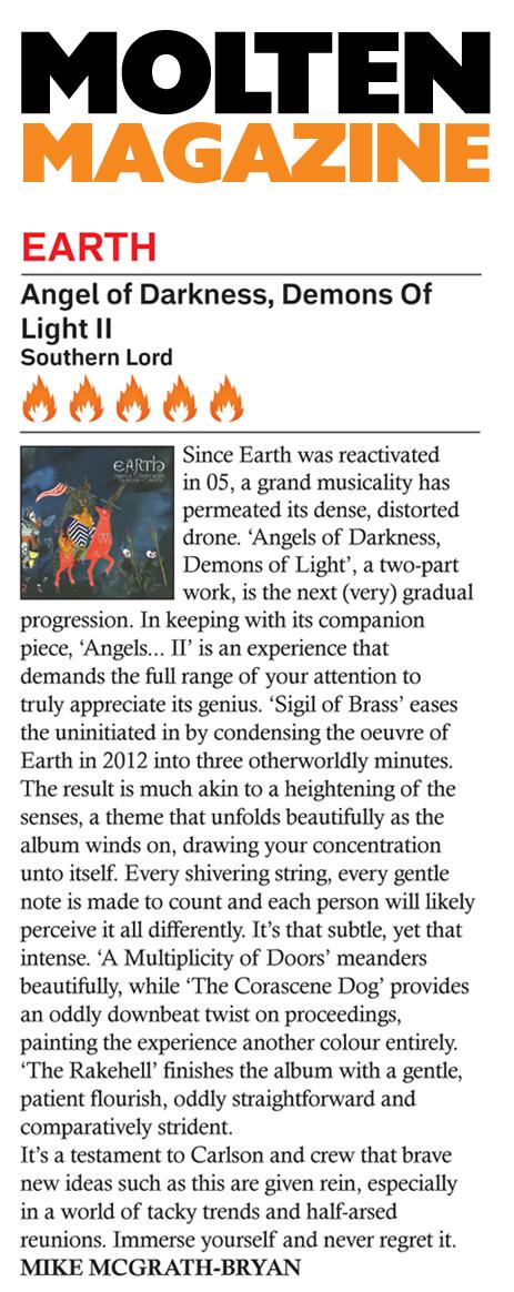 Earth In Molten Magazine
