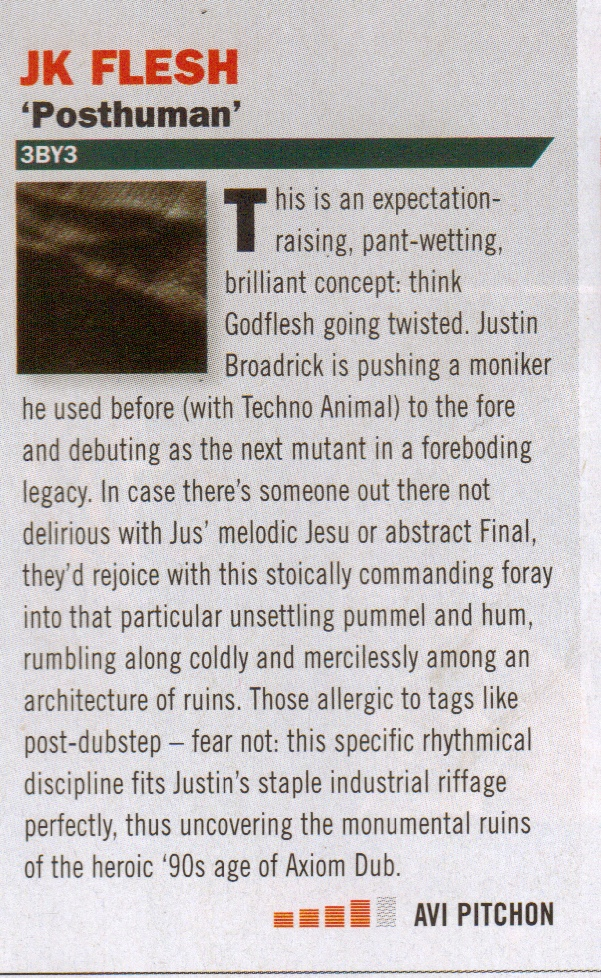 JK Flesh_Terrorizer album review_May issue 2012