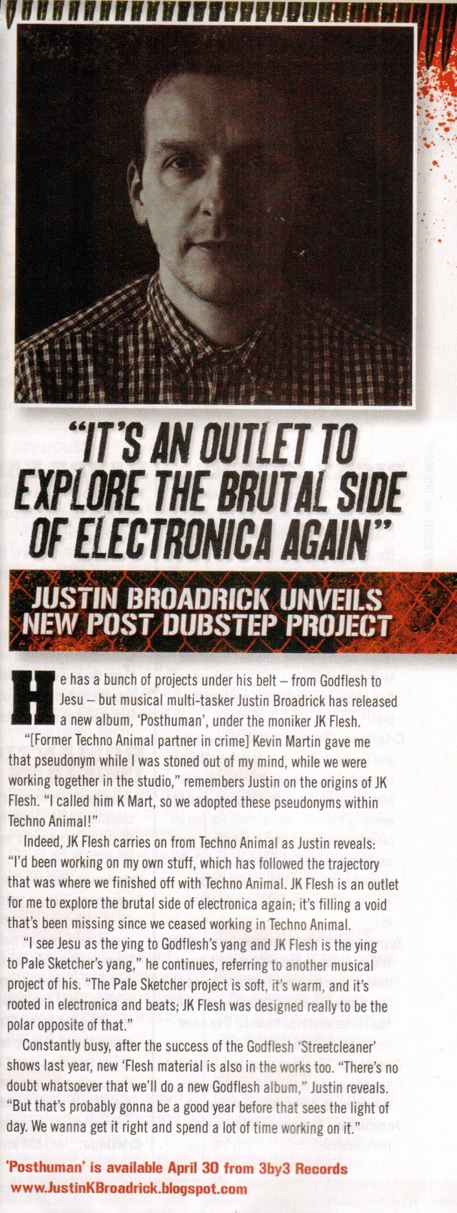 JK Flesh_Terrorizer lead news feature_May issue 2012