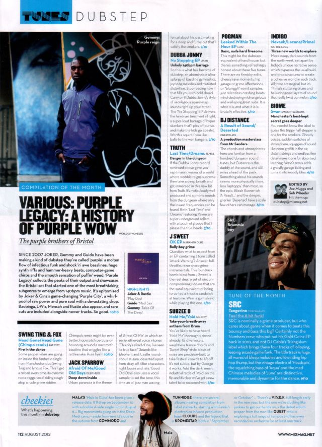 Purple Legacy Mixmag