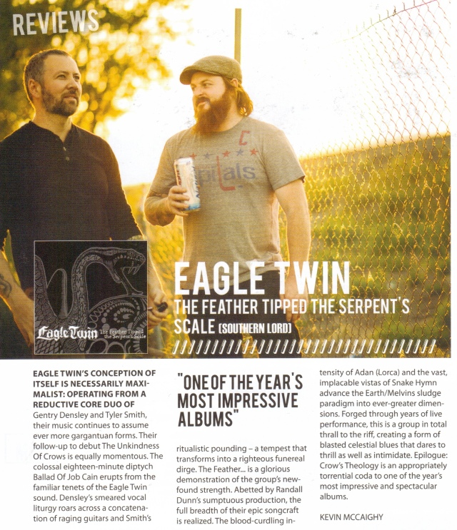 Eagle Twin_Rock A Rolla lead review_August-September issue 2012