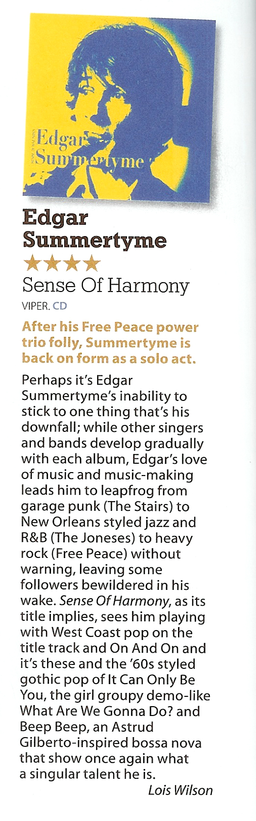 Edgar Summertyme mojo review Oct 2012-1