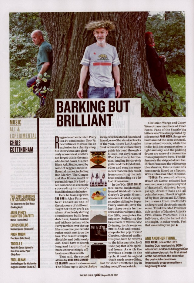 EUROS CHILDS - THE BIG ISSUE - AUG21