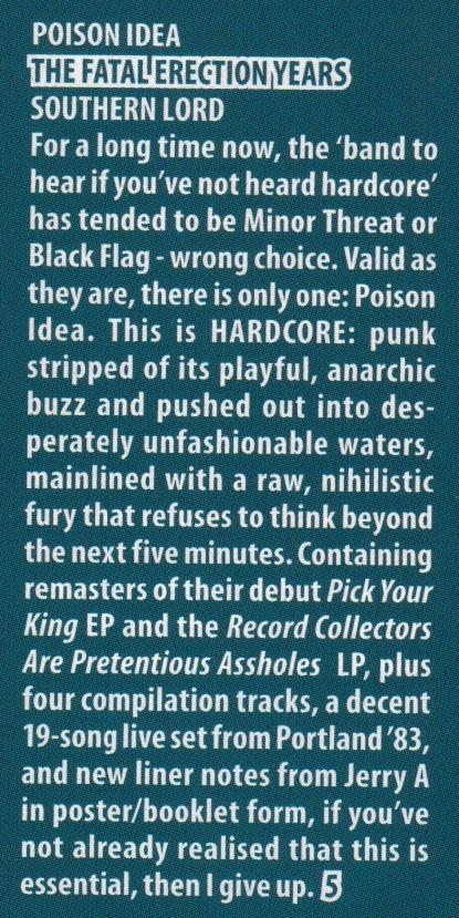Poison Idea_Zero Tolerance review_Aug-Sept 2012