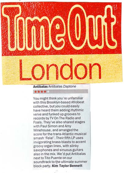 Time Out Album Review